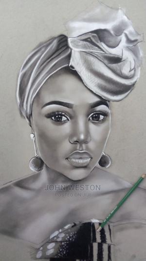 Charcoal Pencil Portrait Drawings, | Arts & Crafts for sale in Lagos State, Lekki