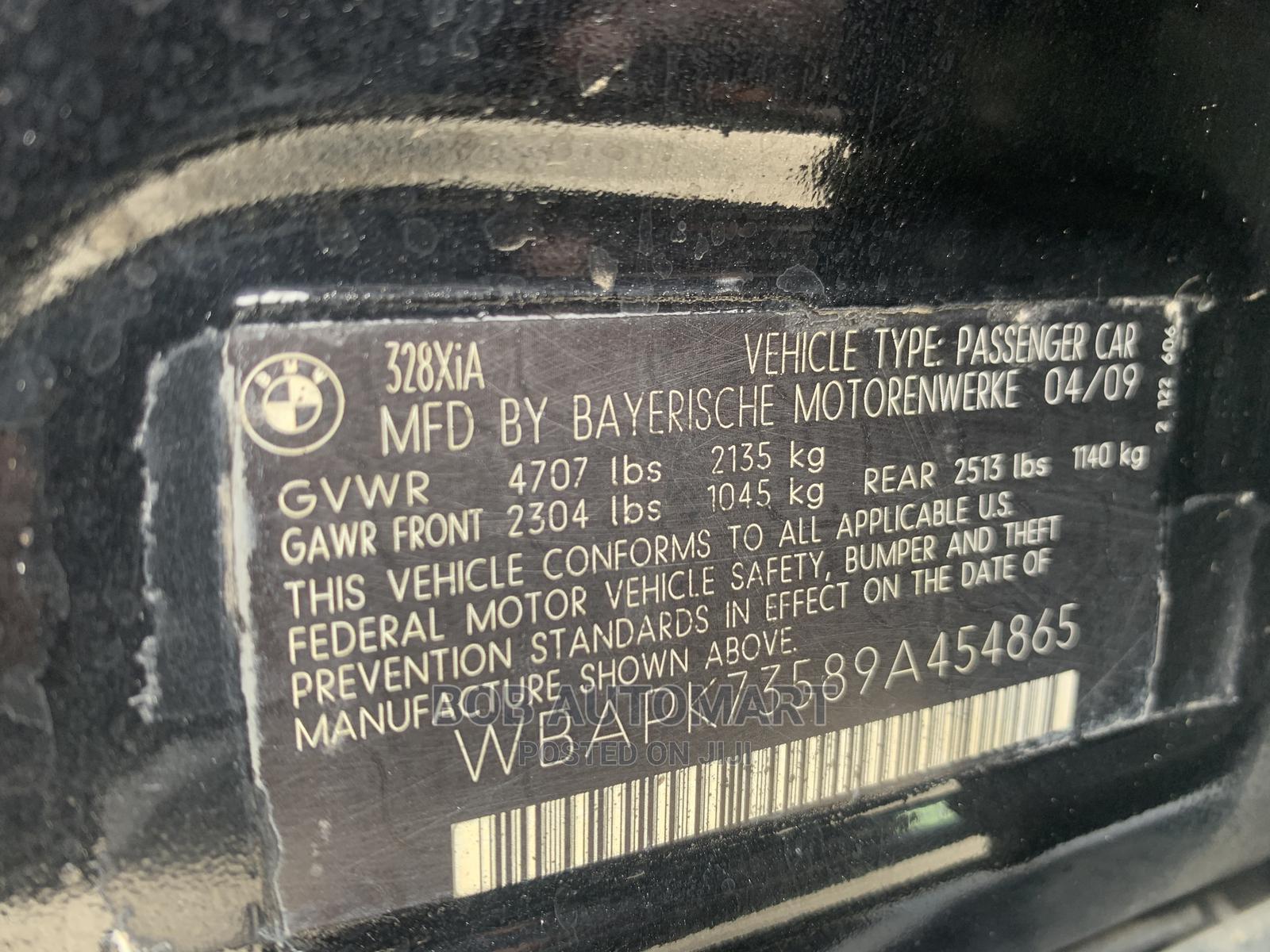 BMW 328i 2009 Black | Cars for sale in Lekki, Lagos State, Nigeria