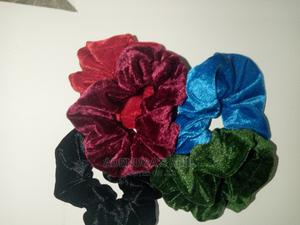 Velvet Scrunchies | Clothing Accessories for sale in Lagos State, Ikeja