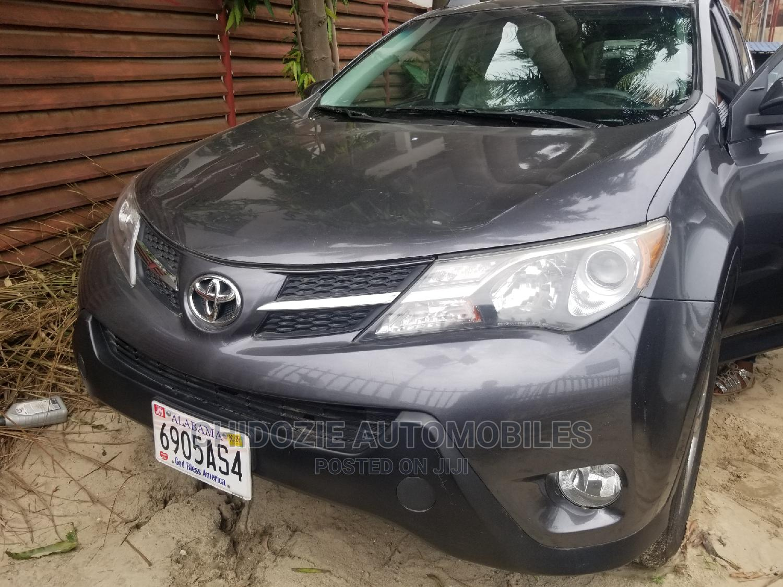 Toyota RAV4 2014 Gray | Cars for sale in Amuwo-Odofin, Lagos State, Nigeria