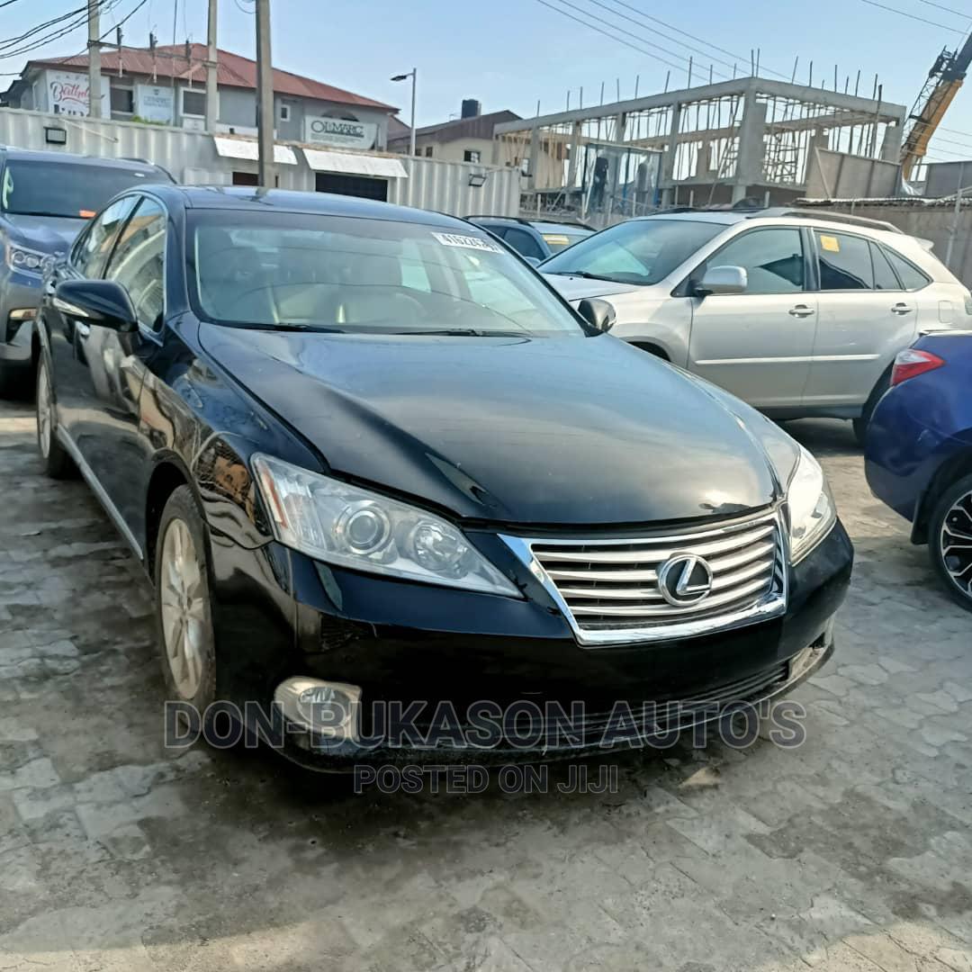 Lexus ES 2011 350 Black | Cars for sale in Ojo, Lagos State, Nigeria