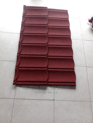 Wine Red Original Stone Coated Roofing Sheet | Building Materials for sale in Lagos State, Lekki