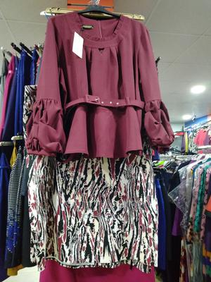Big Size Mama Fashionista Blouse and Skirt | Clothing for sale in Lagos State, Alimosho