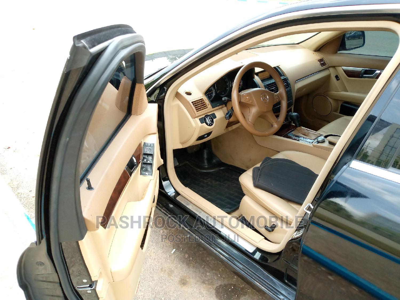Mercedes-Benz C300 2008 Black | Cars for sale in Jabi, Abuja (FCT) State, Nigeria