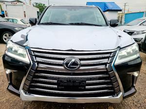 Lexus LX 2019 570 Three-Row Black | Cars for sale in Lagos State, Ikeja
