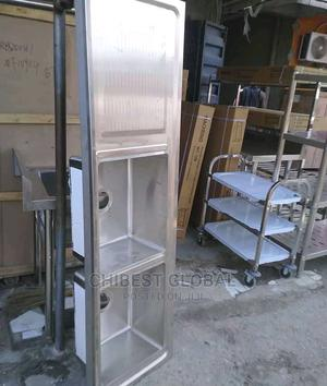 Industrial Double Sink With Side | Restaurant & Catering Equipment for sale in Lagos State, Ojo