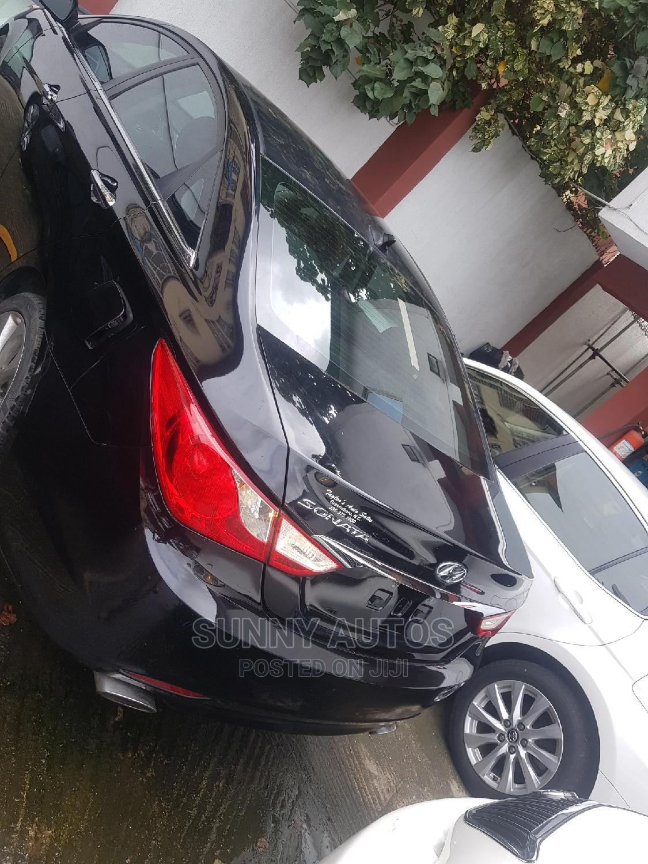 Hyundai Sonata 2014 Black   Cars for sale in Ikeja, Lagos State, Nigeria