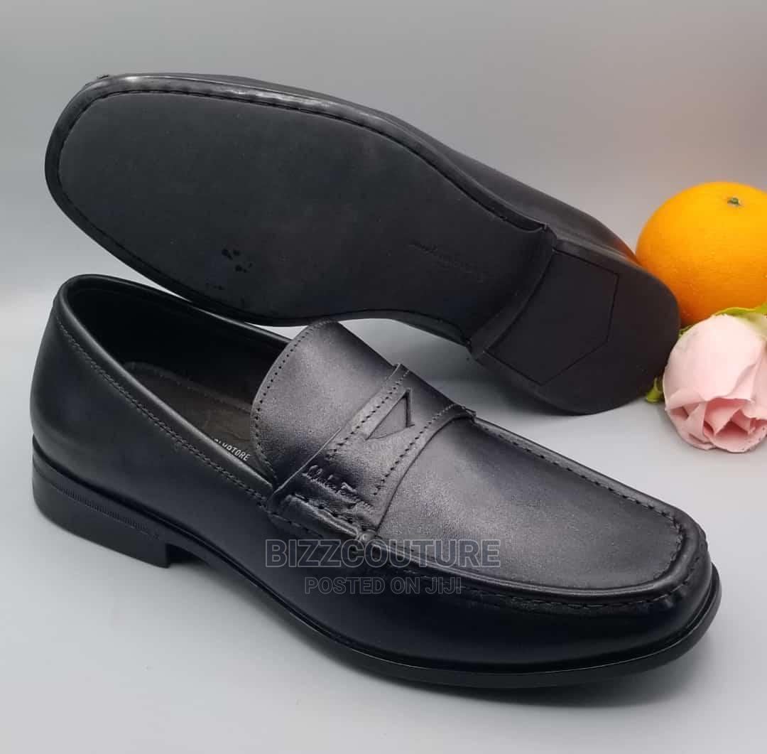 Highquality Salvatore Ferragamo Penny Print Loafers Forsale