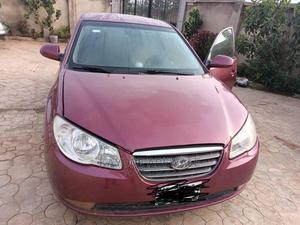 Hyundai Elantra 2008 Red   Cars for sale in Lagos State, Kosofe