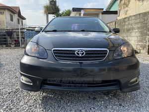 Toyota Corolla 2005 S Black   Cars for sale in Lagos State, Ajah