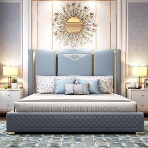 King Sized Leather Bed | Furniture for sale in Lagos State, Lekki