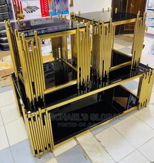 Gold Center Table | Furniture for sale in Lagos State, Ojo