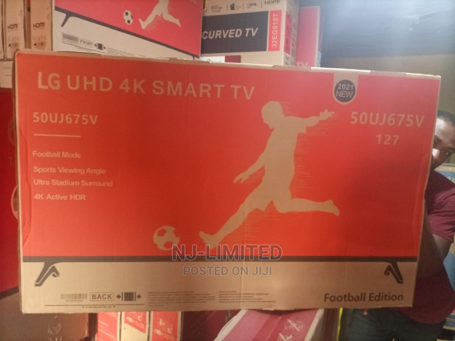 """Archive: LG Smart TV 50"""" With 2 Years Warranty and Internet Facility"""
