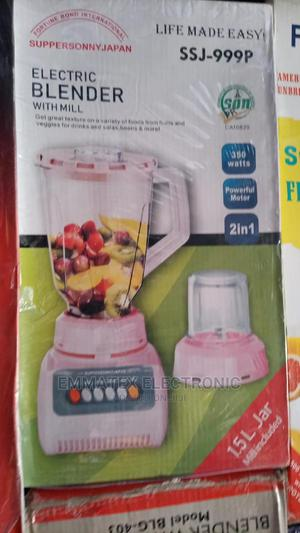 Supersonny Electric Blender 1.5litres   Kitchen Appliances for sale in Lagos State, Victoria Island
