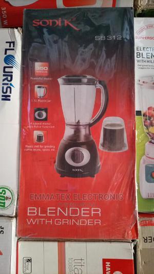 Sonik Blender With Grinder 1.5 Litres   Kitchen Appliances for sale in Lagos State, Lekki