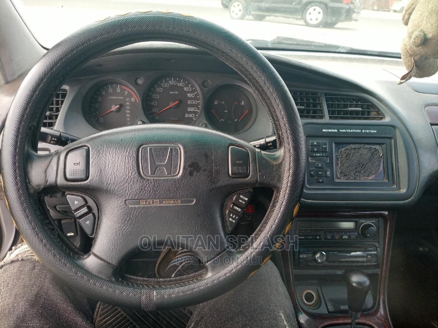 Honda Accord 2002 Silver   Cars for sale in Ajah, Lagos State, Nigeria