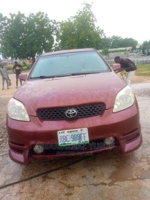 Toyota Matrix 2004 Red   Cars for sale in Abuja (FCT) State, Gwagwalada