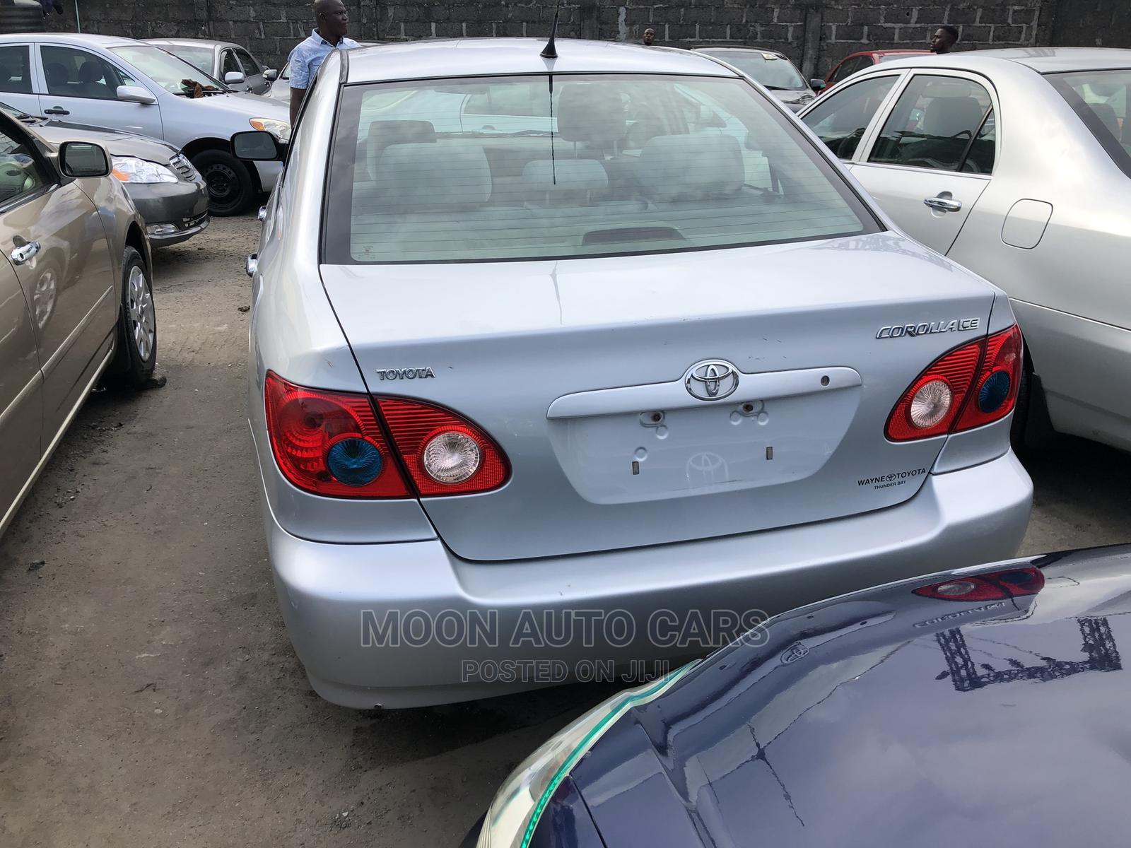 Toyota Corolla 2008 Silver   Cars for sale in Amuwo-Odofin, Lagos State, Nigeria