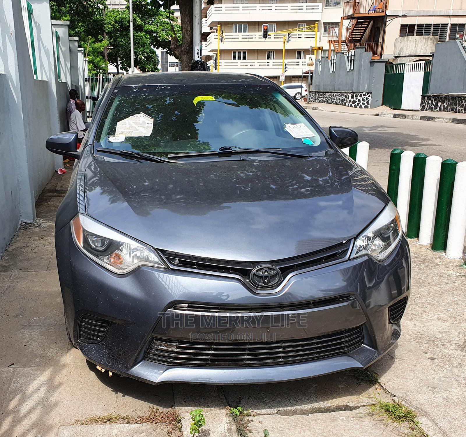 Toyota Corolla 2016 Gray   Cars for sale in Lagos Island (Eko), Lagos State, Nigeria
