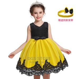 Children Girls Kids Party Princess Ball Gown Lace Dress- B&Y   Children's Clothing for sale in Lagos State, Ikeja