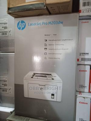 HP Laserjet PRO M203dw   Printers & Scanners for sale in Lagos State, Ajah