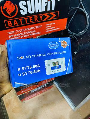 60ah 12/24/36/48v Pwm Charge Controller | Solar Energy for sale in Lagos State, Ojo
