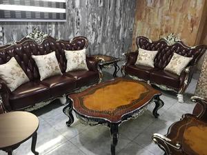 High Quality Pure Leather Sofa Sets.   Furniture for sale in Lagos State, Lagos Island (Eko)
