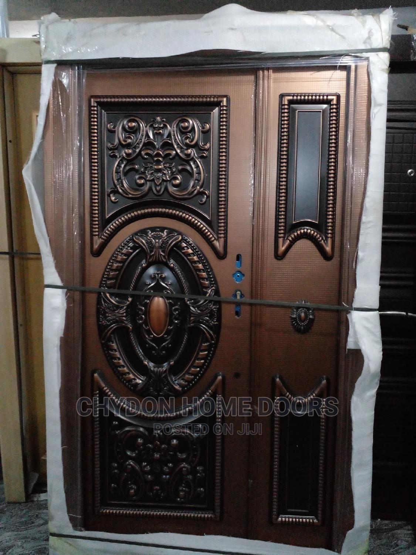 Archive: 4ft Copper Security Door