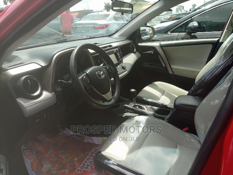 Archive: Toyota RAV4 2014 Red