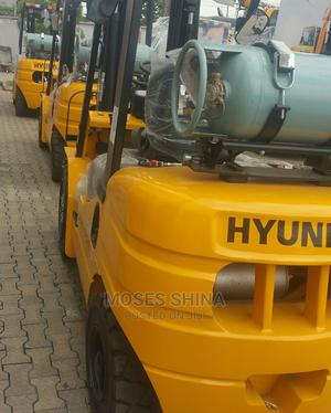 Brand New Hyunday 3ton Gas Forklift for Sale | Heavy Equipment for sale in Lagos State, Ikeja