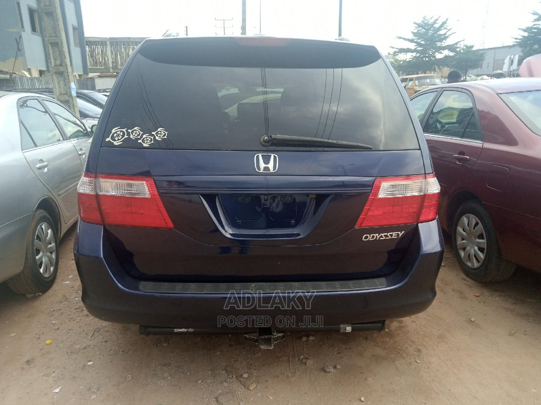 Archive: Honda Odyssey 2007 EX Blue