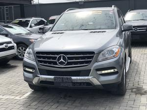 Mercedes-Benz M Class 2012 ML 350 4Matic Gray   Cars for sale in Lagos State, Kosofe