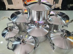 7 Set Tornado Aluminium Pot | Kitchen & Dining for sale in Delta State, Warri