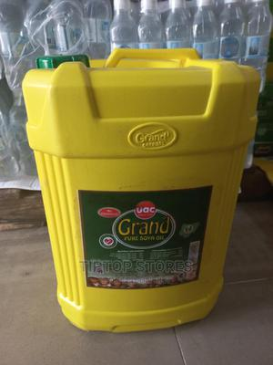 Grand Pure Soya Oil 18litres | Meals & Drinks for sale in Lagos State, Surulere