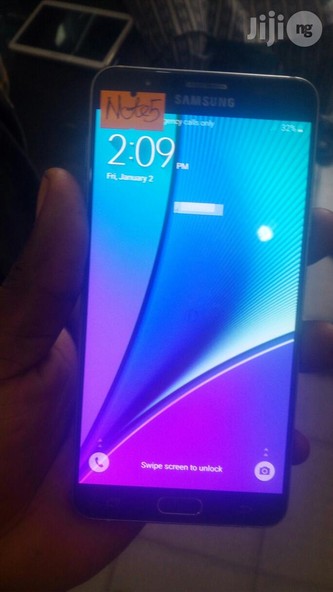 Samsung Galaxy Note 5 32 GB Black | Mobile Phones for sale in Ikeja, Lagos State, Nigeria