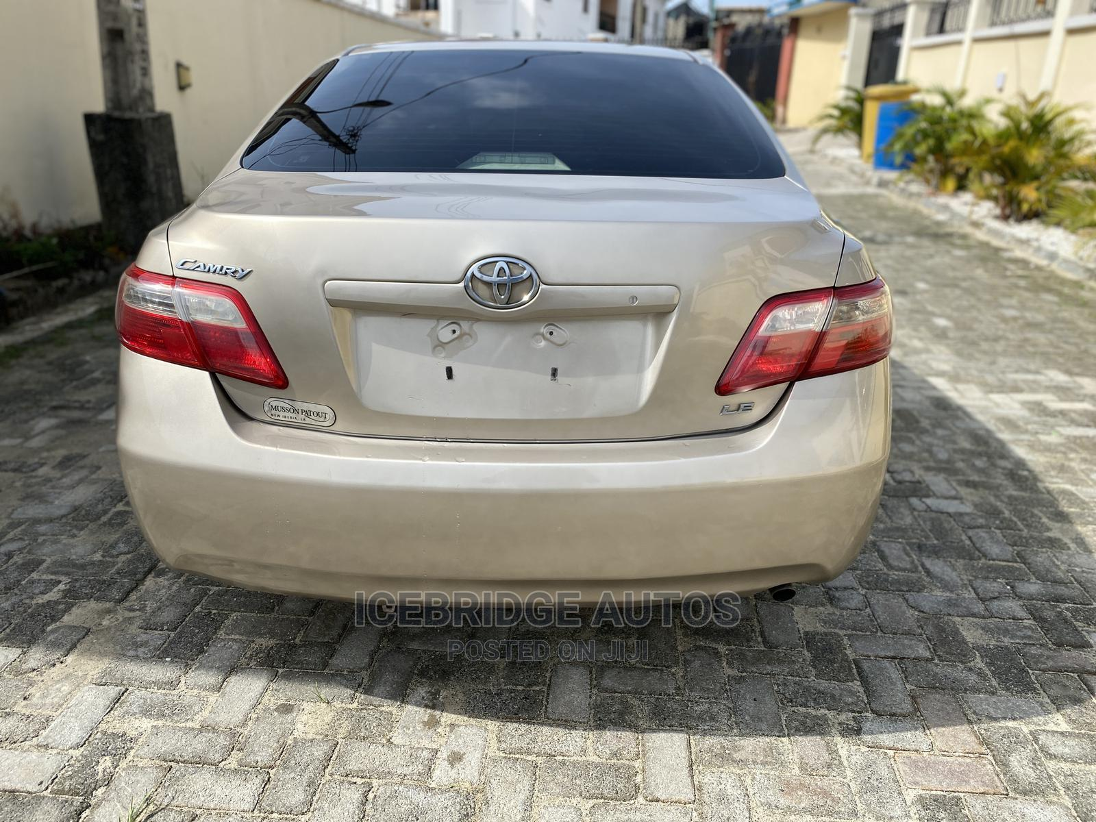 Toyota Camry 2007 Gold | Cars for sale in Lekki, Lagos State, Nigeria