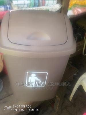 Assorted Plastic Waste Bin 20lwith Swing Cover Importer | Home Accessories for sale in Lagos State, Lagos Island (Eko)