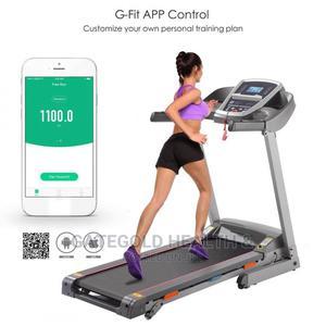 Motorized Technofitness Treadmill 2.5hp 100kg Bluetooth App | Sports Equipment for sale in Lagos State, Ajah