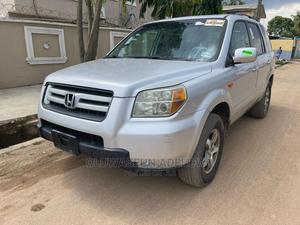 Honda Pilot 2006 LX 4x2 (3.5L 6cyl 5A) Silver | Cars for sale in Lagos State, Ojodu