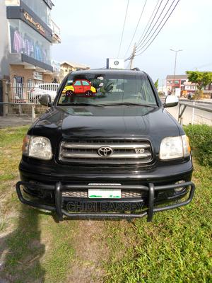 Toyota Sequoia 2002 Black   Cars for sale in Lagos State, Ajah