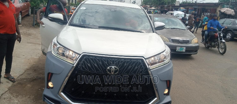 Toyota Highlander Upgraded Version From 2014 - 2021