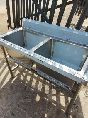 Stainless Steel Sink Double Bowl | Restaurant & Catering Equipment for sale in Lagos State, Lekki