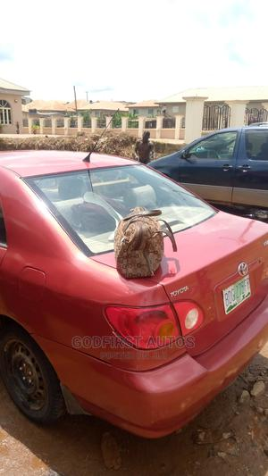 Toyota Corolla 2003 Sedan Automatic Red | Cars for sale in Osun State, Ife