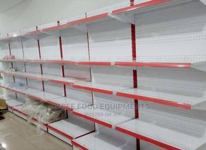 Red Single Sided Supermarket Shelf | Store Equipment for sale in Lagos State, Surulere