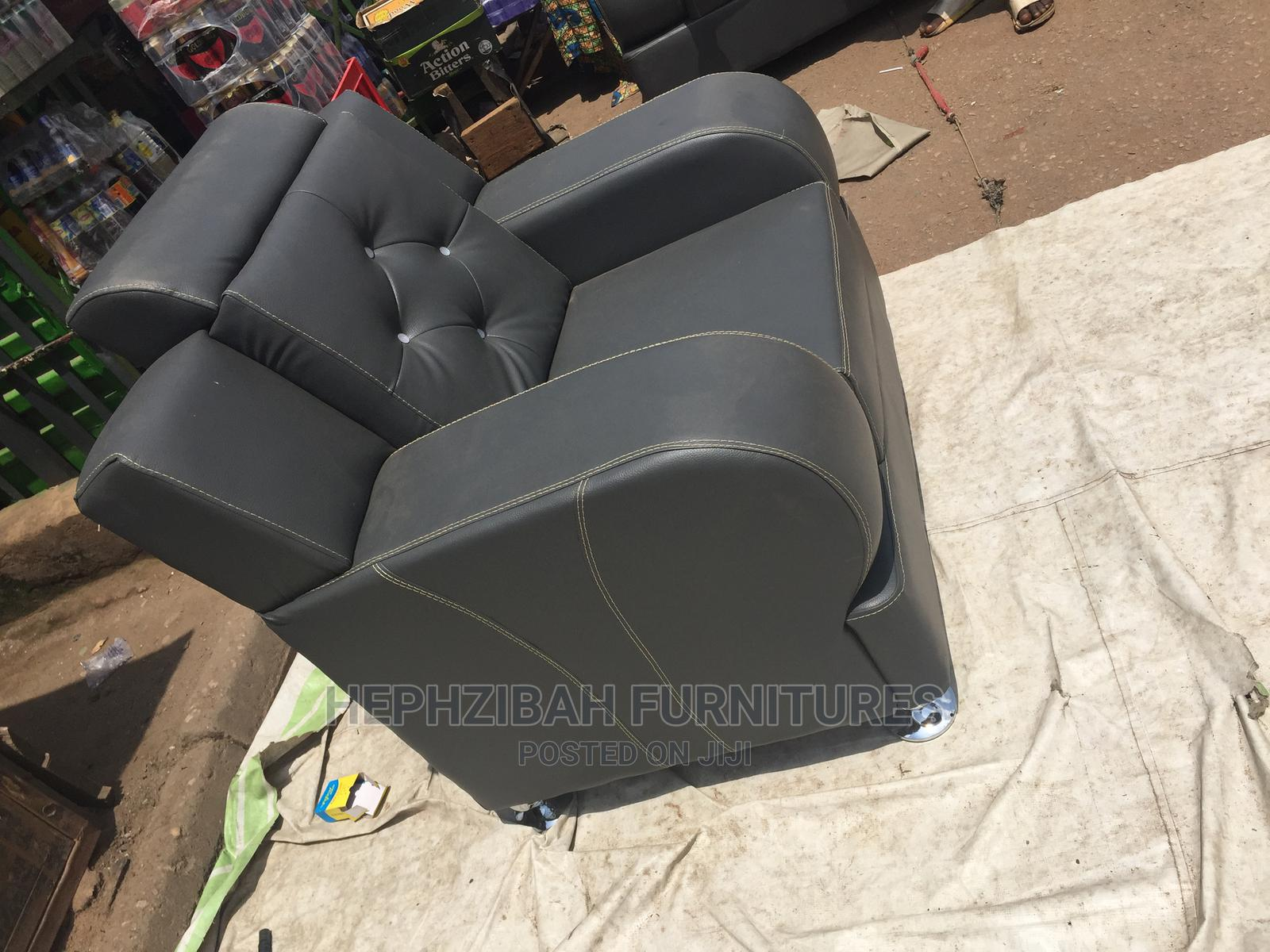 7 Seater Complete Leather Sofa