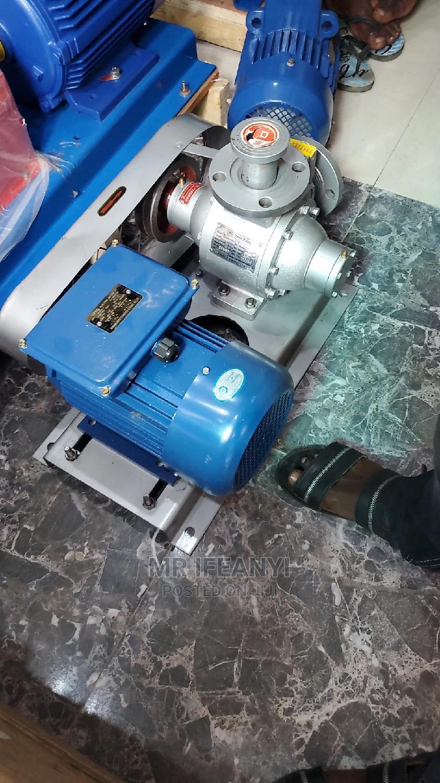"""11/2""""Inch LPG Vane Pump Wit 3hp Single Phase Motor"""