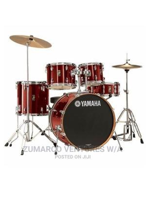 Yamaha 5 Piece Drum Set - Laser Red | Musical Instruments & Gear for sale in Lagos State, Lekki
