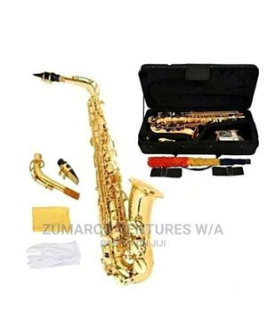 Genuine Yamaha Professional Alto Gold Saxophone | Musical Instruments & Gear for sale in Lagos State, Lekki