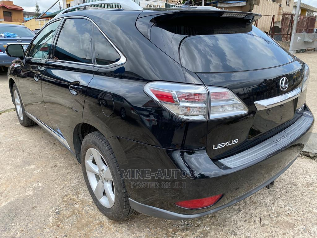 Lexus RX 2010 350 Black | Cars for sale in Ikeja, Lagos State, Nigeria