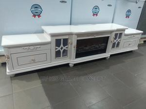 Console Tv Cabinet With Firework | Furniture for sale in Lagos State, Ojo